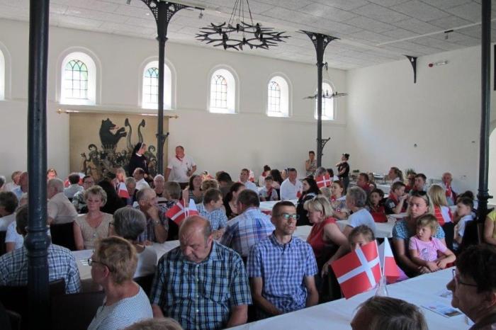 Uroczystość w Lungholm